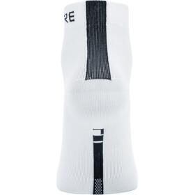 GORE WEAR M Light Mid Socks Unisex white/black